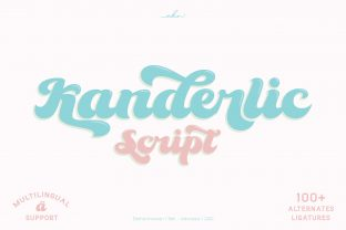 Print on Demand: Kanderlic Display Font By ekahermawan