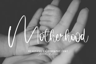 Print on Demand: Motherhood Script & Handwritten Font By Arendxstudio