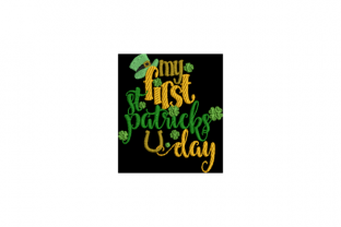 My First St Patrick's Day Nursery Embroidery Design By Wingsical Whims Designs