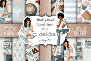 So Delicious Patterns Grafik Muster von Tanya Kart