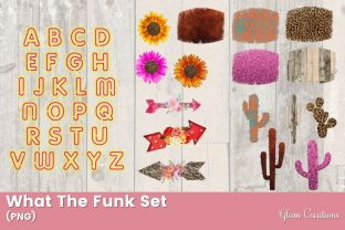 What the Funk Set Graphic Crafts By Glam Creations