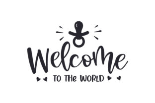 Welcome to the World Children Craft Cut File By Creative Fabrica Crafts