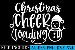 CHRISTMAS CHEER LOADING Graphic Crafts By beautycrafts360