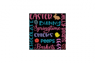 Easter Graffiti Easter Embroidery Design By Wingsical Whims Designs