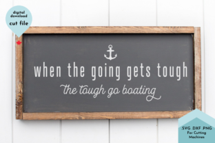 Print on Demand: Funny Boating Sign SVG, Summer Decor Graphic Crafts By Lettershapes