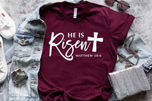 Print on Demand: He is Risen Graphic Crafts By ChatoyArtCo