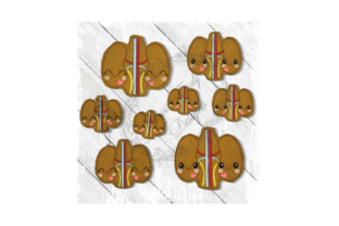 Kawaii Organ Kidneys Accessories Embroidery Design By Yours Truly Designs