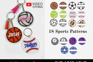Keychain Pattern, Sports Graphic Crafts By DIY Craft Tutorials