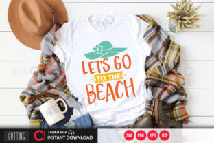 Print on Demand: Lets Go to the Beach Svg Graphic Crafts By PrintableSvg