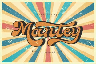Print on Demand: Mantaey Script & Handwritten Font By Alit Design