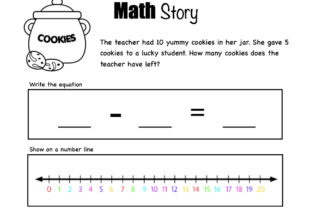 Math Stories! Graphic 1st grade By Lory's Kindergarten Resources! 2