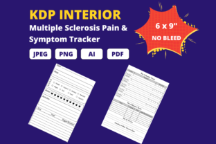 Print on Demand: Multiple Sclerosis Pain Tracker Graphic KDP Interiors By KDP Crew