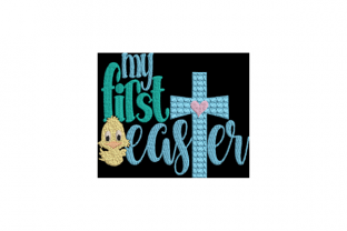 My First Easter Easter Embroidery Design By Wingsical Whims Designs