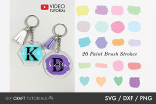 Paint Brush Stroke Bundle Graphic Crafts By DIY Craft Tutorials