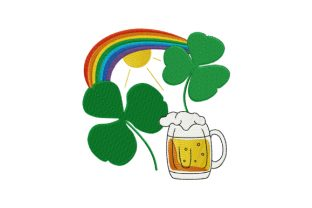 Print on Demand: Shamrock - Saint Patrick's Day St Patrick's Day Embroidery Design By EmbArt