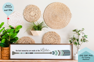Print on Demand: The Best Memories Are Made at the Lake Graphic Crafts By Lettershapes
