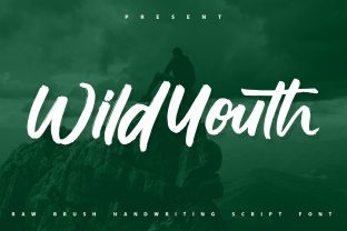 Print on Demand: Wildyouth Script & Handwritten Font By Vunira