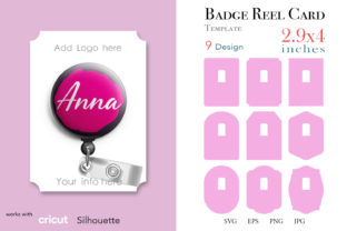 Badge Reel Display Card 2.9