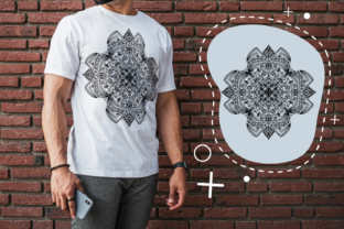 Print on Demand: Beuaty Unique Mandala Graphic Crafts By Creative Zone
