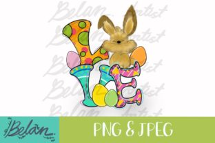 Print on Demand: Easter Bunny Graphic Crafts By BelansArtist