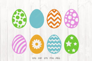 Print on Demand: Easter Eggs Bundle Graphic Illustrations By VitaminSVG