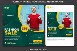 Fashion Sale Instagram Post Banner Graphic Web Templates By Effectmaster