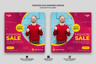 Fashion Sale Instagram Post Banner Graphic Graphic Templates By Effectmaster