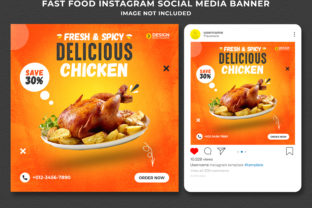 Fast Food Social Media Post Banner Graphic Graphic Templates By Effectmaster