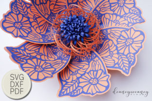 Flowerception Petal 2 Graphic 3D Flowers By Deaney Weaney Blooms