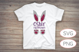 Osterhöppchen | Lovely Easter Bunny Graphic Crafts By Dada-Sa-Dabrar