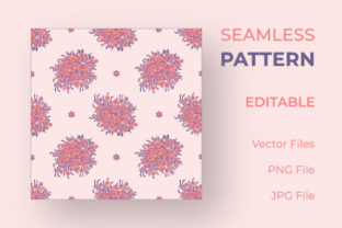 Pink Color Seamless Floral Pattern Graphic Patterns By sabbirahmed012