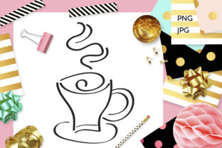 Print on Demand: Steamy Java Coffee Coloring Graphic Coloring Pages & Books Adults By Revidevi