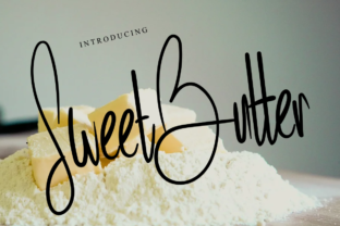 Print on Demand: Sweet Butter Script & Handwritten Font By Letterpen