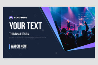 YouTube Thumbnail Design & Web Banner Graphic Graphic Templates By Exipex_op