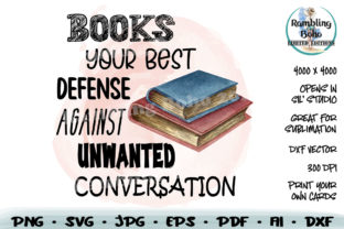 Print on Demand: Your Best Defense Against Conversation Graphic Illustrations By RamblingBoho