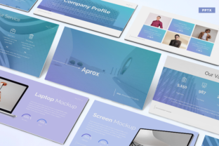 Aprox - Business Powerpoint Template Graphic Presentation Templates By Unicode Studio