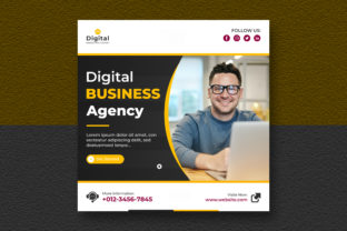 Business Agency Social Media Post Banner Graphic Graphic Templates By Effectmaster
