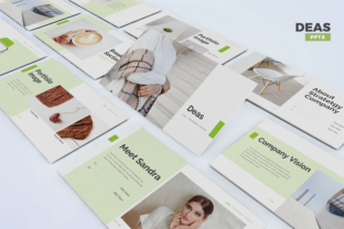 Deas - Business Powerpoint Template Graphic Presentation Templates By Unicode Studio