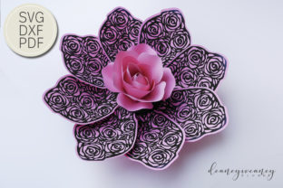 Flowerception Petal 3 Graphic 3D Flowers By Deaney Weaney Blooms