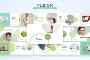 Fusion - Powerpoint Template Graphic Presentation Templates By Unicode Studio