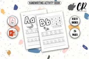 Handwriting Activity Book - KDP Interior Graphic KDP Interiors By Creative Ram