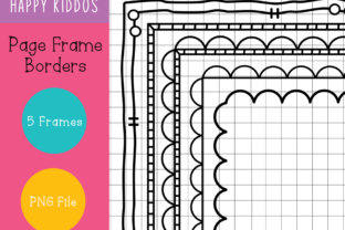 Page Frame Borders Graphic Illustrations By Happy Kiddos