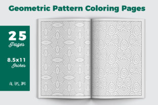 Pattern Coloring Pages for KDP Graphic Coloring Pages & Books Adults By iCreativee