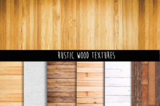 Print on Demand: Rustic Wood Background Graphic Backgrounds By The Rose Mind 2