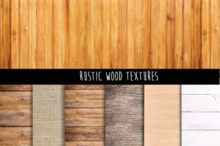 Print on Demand: Rustic Wood Background Graphic Backgrounds By The Rose Mind 3