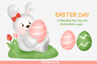 EASTER DAY CLIPART FREE DOWNLOAD Graphic Illustrations By nattapohncha
