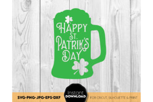 Happy St. Patricks Day Shirt SVG Gift Graphic Crafts By March Design Studio
