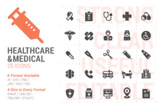 Healthcare & Medical Filled Icon Graphic Icons By Ctrl[A]Studio