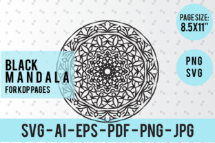 Print on Demand: Mandala for Kids and Adult - 013 Graphic Patterns By ratnasaha47