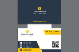 Modern Professional Business Card Design Graphic Print Templates By Effectmaster